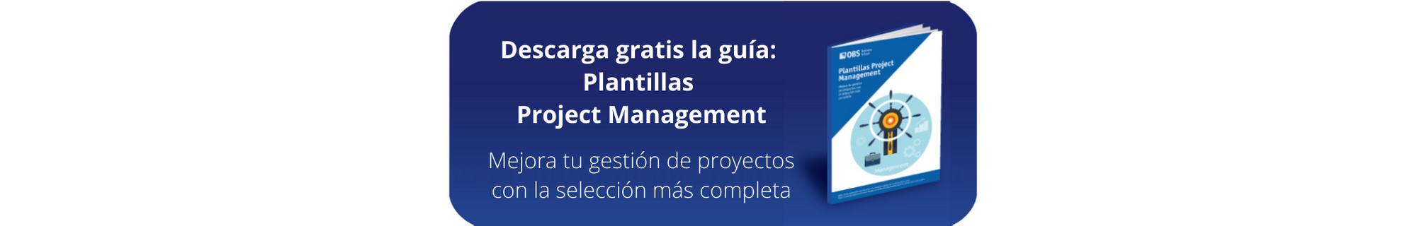Ebook GRATIS: Plantillas Project Management