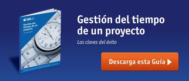 Ebook GRATIS: Gestión del tiempo de un proyecto