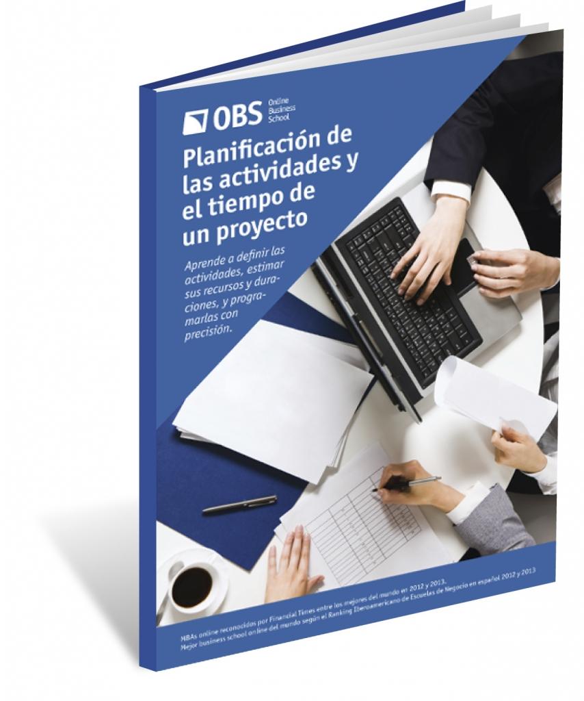 Planificación actividades y tiempo de un Proyecto